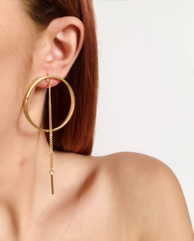 Elta Hoop Earrings
