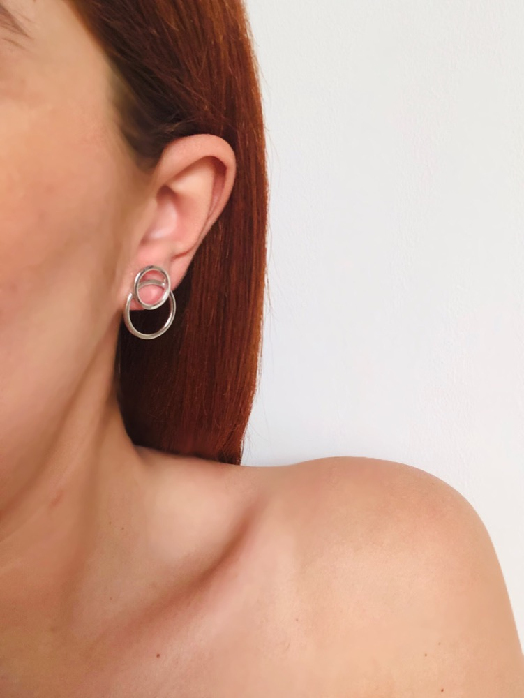 Eola Hoop Earrings